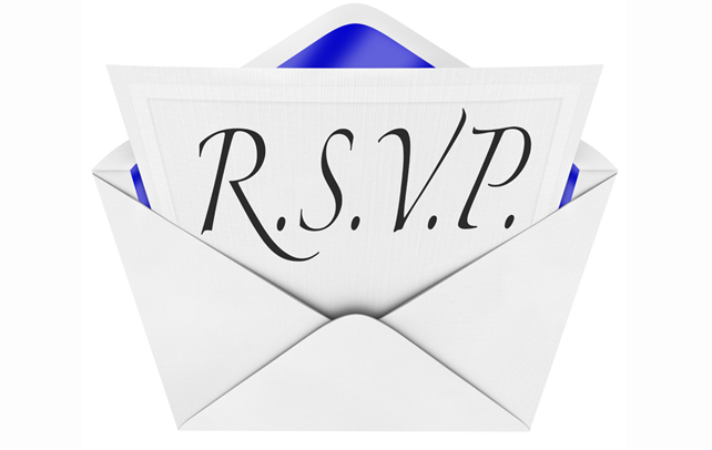 Wedding RSVP Etiquette Invitations Guests – Rsvp in Invitation Card Meaning
